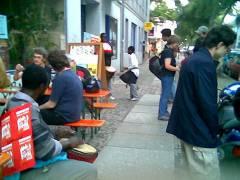 Kunstcafé der Kunst im Kiez Wochen