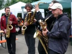 """""""Sax Four Fun"""" auf dem Kiezfest 2007"""