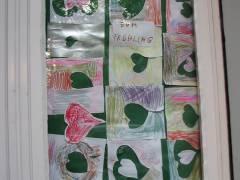Schätze zum Frühling - gemalt von Kita-Kindern in der Nehringstraße