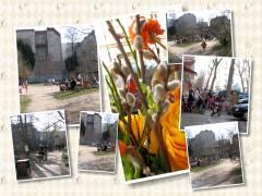 Frühling im Kiez 2009 - im Ziegenhof und vor dem Eisladen in der Danckelmannstraße