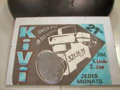 """Plakat der Kiezer """"Wochenschau"""" aus den 80ern"""