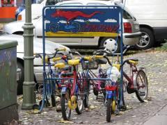 Fahrradständer in der Nehringstraße