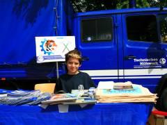 Kiez-Kinderfest - THW-Jugend immer vor Ort