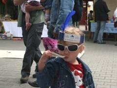 Kiez-Kinderfest - am Stand des Mieterbeirats