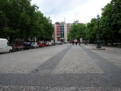 Klausenerplatz am Samstag ohne Trödelmarkt