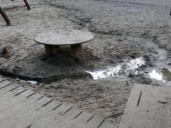 Wasserspielplatz Klausenerplatz -Sommer 2007