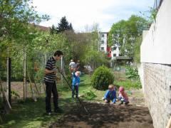 Kinderbeet in der Kleingartenanlage / Foto © Kolonie Bundesallee