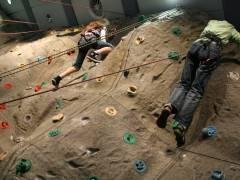 Kletterfest im Jugendclub an der Indoorkletterwand