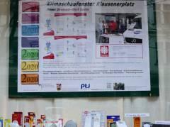 """""""Klimaschaufenster"""" in der Knobelsdorffstraße"""