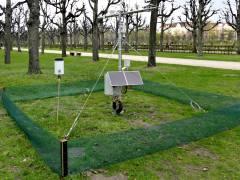 Klimameßstation der TU Berlin im Schloßpark Charlottenburg