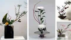 Ikebana-Blumengestaltung im Keramik-Museum Berlin / Foto © KMB