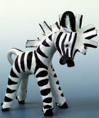 Zebra, Anzengruber-Keramik Wien, 1950er Jahre - Foto © KMB