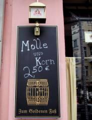 "Kneipe ""Zum goldenen Faß"" am Spandauer Damm"