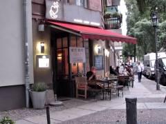 """Kiezer Eckkneipe - Restaurant - Café """"Glaube Liebe Hoffnung"""" in der Neufertstraße"""