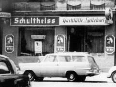 "Kneipe ""Spitzbart"" in der Nehringstraße (1960er Jahre)"