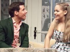 """Raphael Grosch und Mia Geese in """"Der Pantoffel-Panther"""" in der Komödie am Kurfürstendamm / Foto © Frank Wecker"""