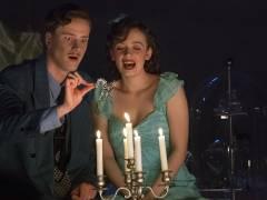 """Nellie Thalbach und Florian Donath in """"Die Glasmenagerie"""" / Foto © Frank Wecker"""
