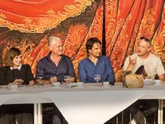 Auftaktpressekonferenz zur neuen Saison der Woelffer-Bühnen im Schillertheater / Foto © Frank Wecker