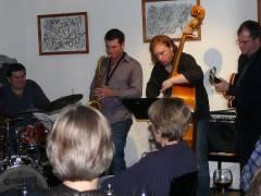 Konzert im Café Sartre - Christian-Kullack-Quartett
