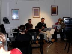 Jazz im Café Sartre in der Knobelsdorffstraße