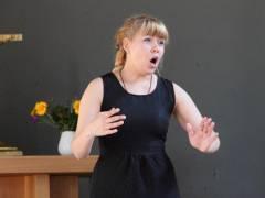 Die Sopranistin Nadezda Kolesnikova. / Foto privat