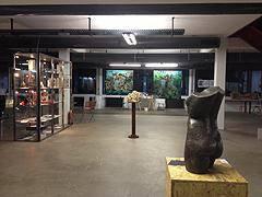 Ausstellungssituation Erdgeschoss links
