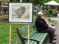 Kunst in Ruhe erkunden - sitzend ...