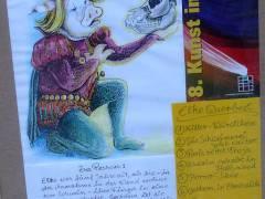 """Ausstellung """"Die Schweinerei geht weiter"""" von Elke Queerbeet"""