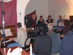 Finissage im Kunst-Café 2007