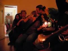 Finissage im Kunst-Café 2007 - Georgia hat Geburtstag