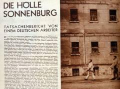 """Bericht in der """"Arbeiter Illustrierte Zeitung"""" (AIZ) vom 9.11.1933 – Foto © Gedenkstätte Deutscher Widerstand"""