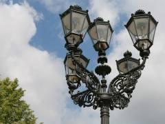 Kandelaber vor dem Schloß Charlottenburg