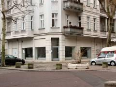 "Ehemaliger ""Gebrüder Manns"" Laden in der Nehringstraße"