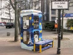 Bücherbox auf dem Leon-Jessel-Platz