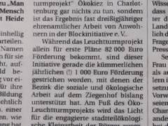 Aus der Berliner Zeitung vom 18.01.2011