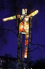 """Lichtergalerie """"Lichter des Respekts"""" im Lietzenseepark"""