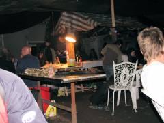 1. Lions-Party im Kiez 2009 - Hinterhof in der Danckelmannstraße
