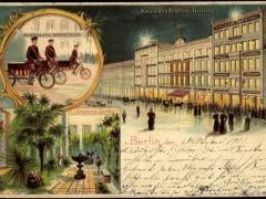 Kaufhaus Rudolph Hertzog um 1900 - Bildquelle Wikipedia / www.akpool.de