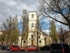 Luisenkirche auf dem Gierkeplatz (April 2016) / Foto © Evangelischer Kirchenkreis Charlottenburg-Wilmersdorf