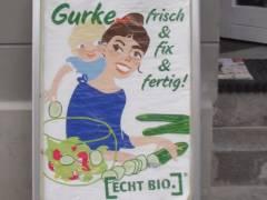 Gurken und mehr in echt Bio-Qualität