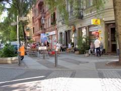 Nehringstraße an der Ecke zur Neufertstraße