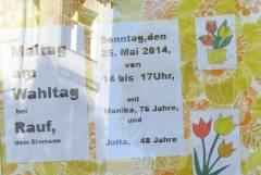 Malen für Kinder im Klausenerplatz-Kiez - diesmal als Maltag zum Wahltag