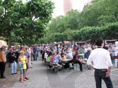 Sommerfest auf dem Mierendorffplatz 2008
