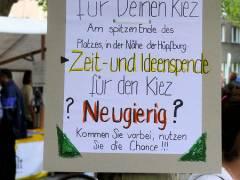 1. Stadtteilfest auf dem Mierendorffplatz