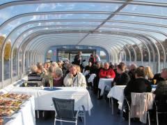 Gemeinsame Dampferfahrt der GEWOBAG-Geschäftsleitungen und Mieterbeiräte auf dem Großen Müggelsee - 31.10.2009