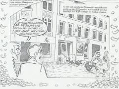 Zeichnung der alten Mieterini
