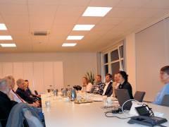 Erstes Treffen des neuen Mieterrats mit dem Vorstand der Gewobag (9.11.2016)