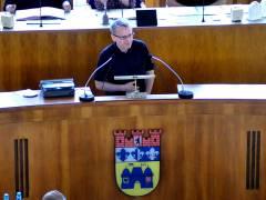 Vorstellung des Einwohnerantrags zum Milieuschutz in der BVV-Sitzung am 22. Juni 2017