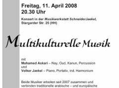 Konzert - Multikulturelle Musik