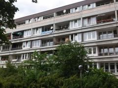 Gebäude an der Mollwitzstraße (früher der landeseigenen Wohnungsbaugesellschaft GSW) / Foto privat
